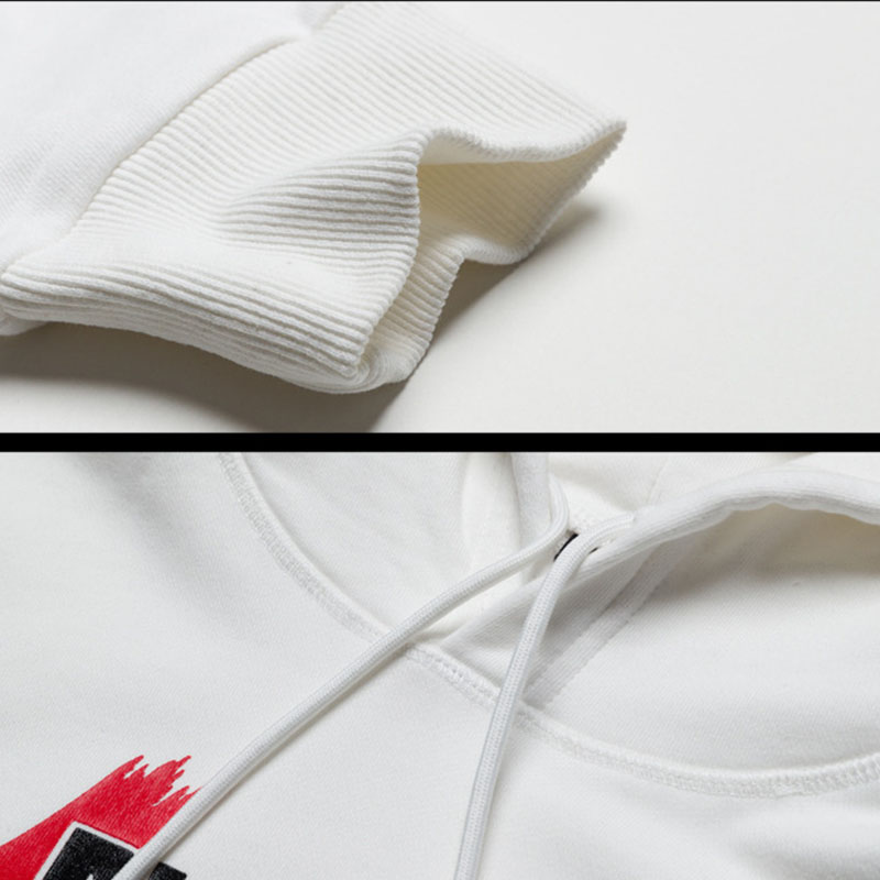 Imprimé Manches À trousers trousers Haute White Blcak White Sweat 2018 sweater Rue Vêtements Casual Sweater Mode Blcak Lettres Respirant Longues Neuf Qualité De Hommes Capuche 1OYYqFwvx