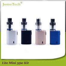 Jomotech mejor ecigs y vapes 0.5ohm auténtico lite 35 w vape cigarrillo electrónico hookah pluma 35 w caja mod arranque kit jomo-111