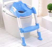 2017 תינוק חדש בנות ילדים בני ילדים כיסא מתקפל אסלת כיסוי מושב בסיר עם סולם אימון פיפי המשתנה ישיבה Potties