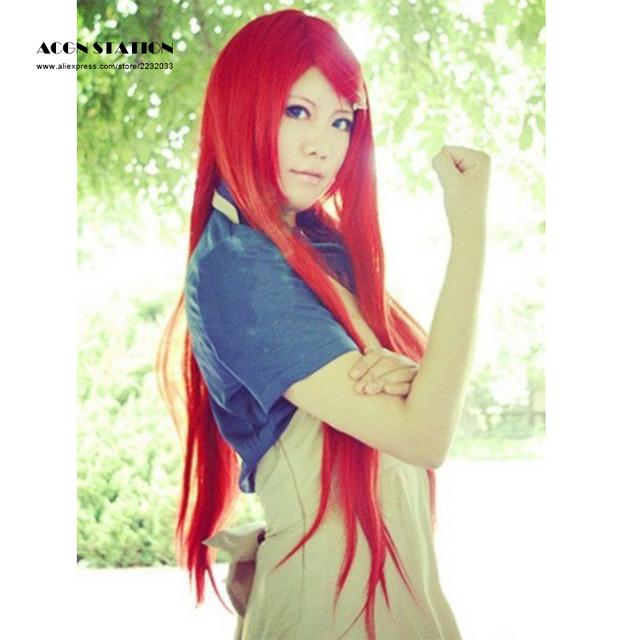 Naruto Uzumaki Kushina Red Long Cosplay Wig