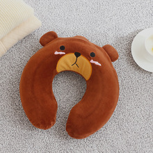 цены Cartoon plush pvc warm water bag, safety explosion-proof DIY hand warmer, warm U-type water injection hot water bottle