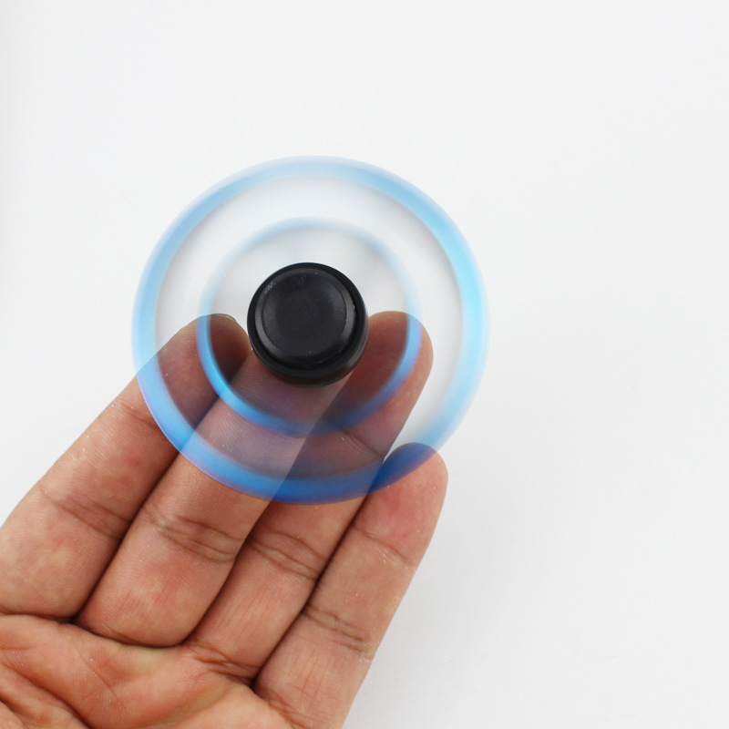Fidget Gyroscope Spinner Naruto Finger Spinner Tri Spinner which long spinning For Kid Adult Toys antistress ring in Fidget Spinner from Toys Hobbies