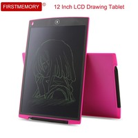 Firstmemory 12 Inch LCD Drawing Tablet Ultra Thin Portable Handwriting Digital Board Writing Pad With Stylus