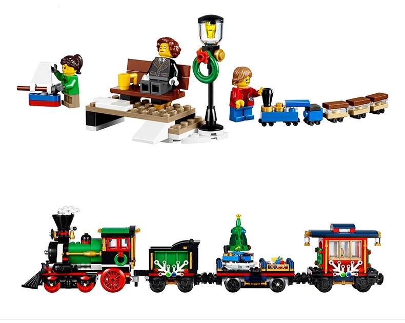 Blocos cidade do natal do feriado Modelo Número : 10254 36001