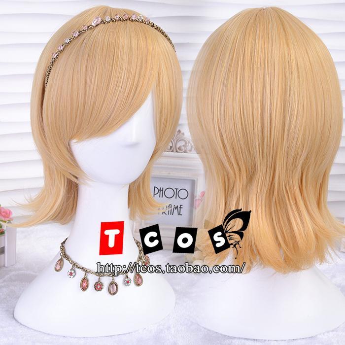 Len Kagamine Cosplay Wig