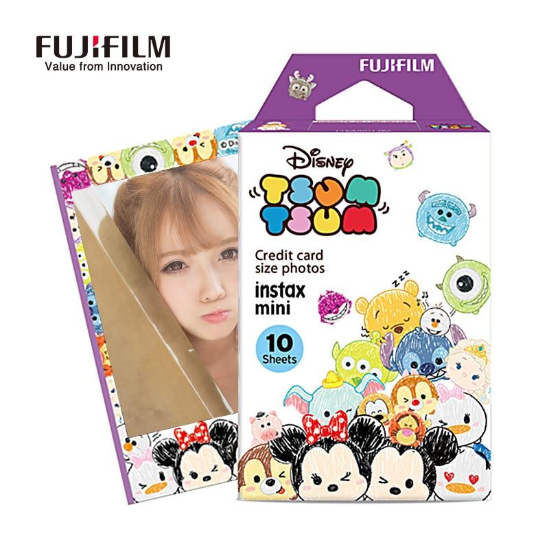 Galleria fotografica Fujifilm Instax Mini 9 8 7s 25 50s Film 10 Sheets Cute Cartoon Instant Camera Paper for Fuji instant Mini Camera Accessories
