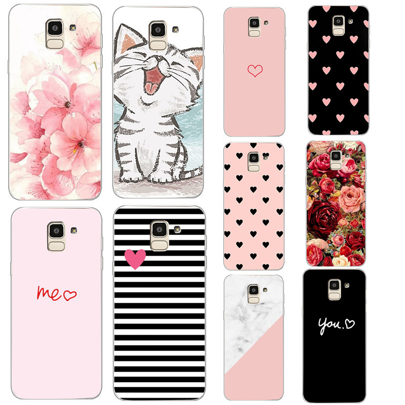 <font><b>Case</b></font> For <font><b>Samsung</b></font> <font><b>S7</b></font> egde <font><b>Case</b></font> Cover for <font><b>Samsung</b></font> Galaxy J4 J6 J8 2018 <font><b>Case</b></font> for <font><b>Samsung</b></font> Note 9 S8 S9 A8 Plus 2018 <font><b>Silicon</b></font> Fundas image