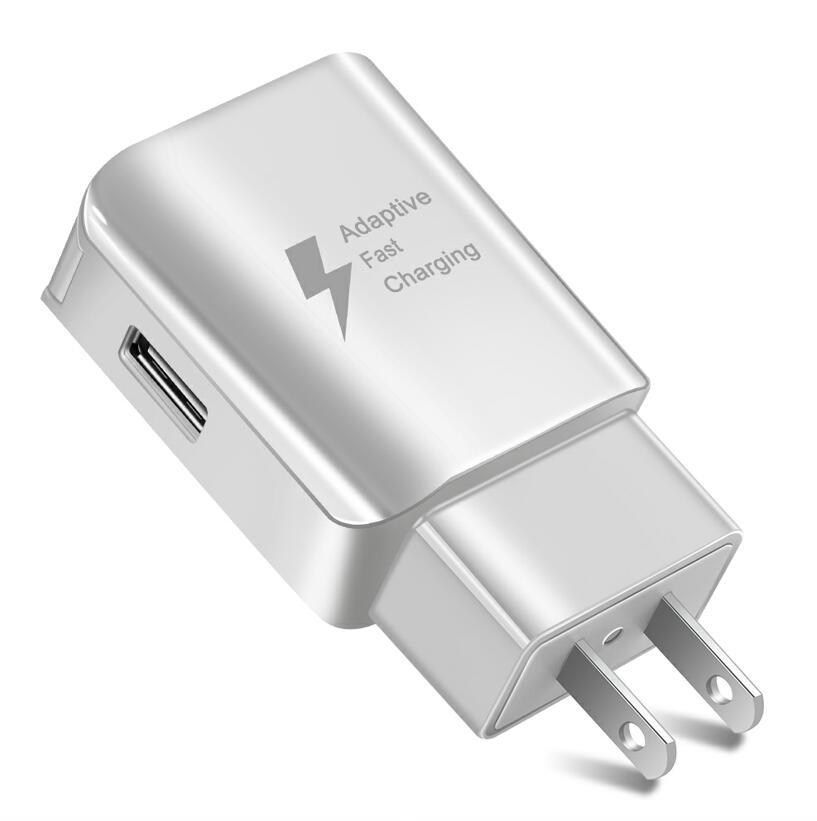 √Universal USB Charger EUUS Plug Travel Wall Quick Charge