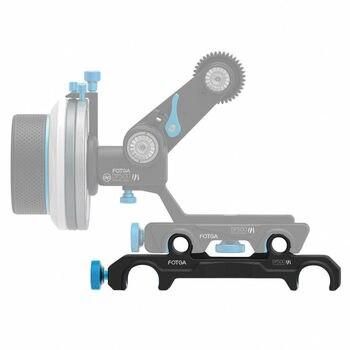 FOTGA DP500III 15mm to 19mm Rail Rod Clamp Adapter For DSLR QR Follow Focus Rig F21812