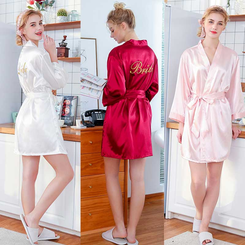 Robes Long-Sleeve Printed Lace-Up Women Casual Letter Solid Comfortable Concise Brand-New