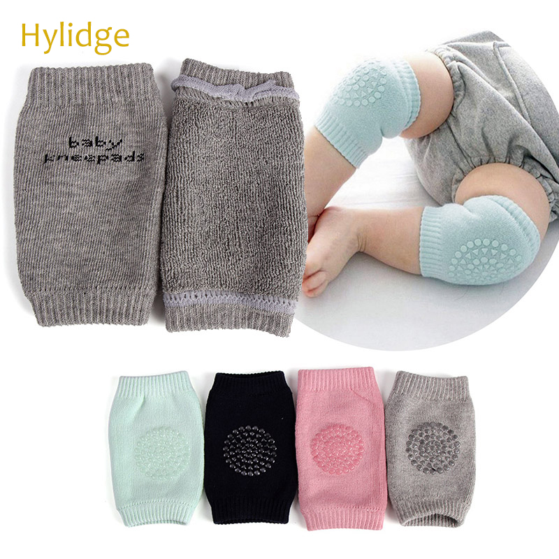 Hylidge Soft Cotton Toddler Baby Knee Pads Safety Crawling For Children Kids Protection Girl Boys Knee Protector