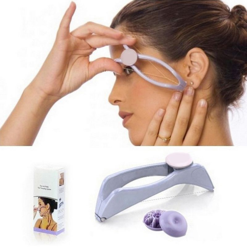 Manually Threading Face Body Neck Upper Lip Hair Removal Epilator Beauty Tools Female Facial Back Spa Hair Removal New