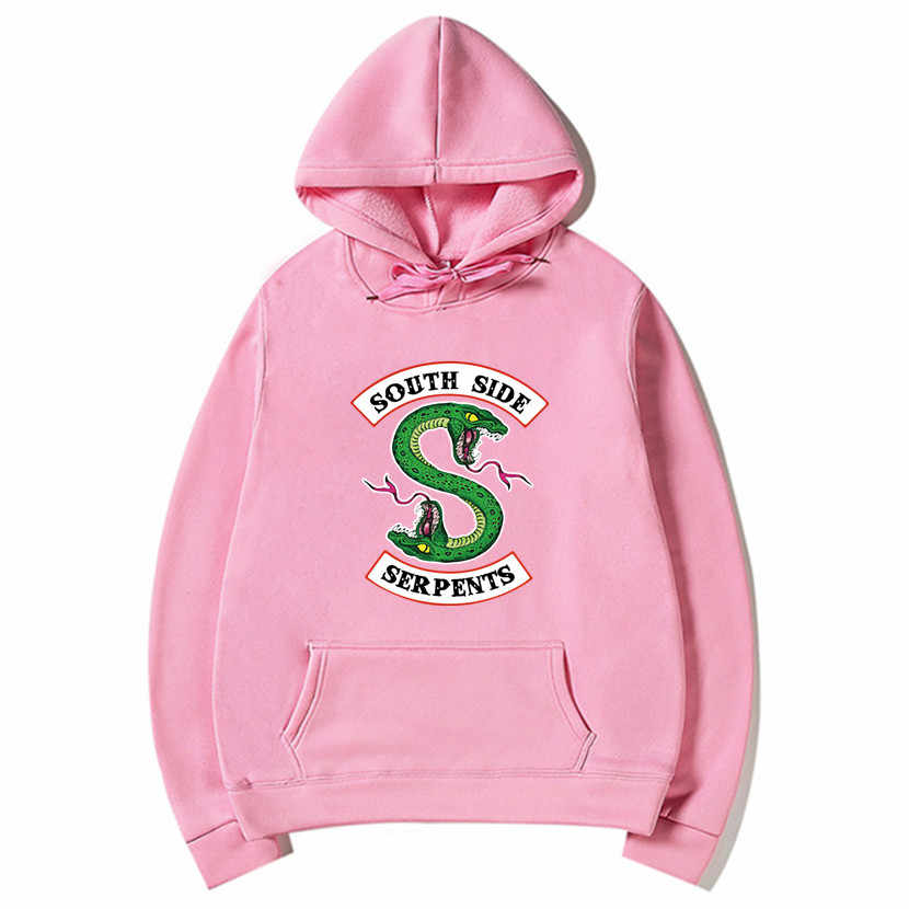 2019 New South Side Serpents Hoodie Sweatshirt Hip Hop Streetwear Autumn Spring Hoodies Men Fashion Riverdale Hoodie S-XXXL
