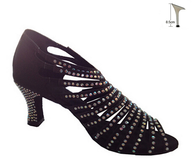 Ladies Dance Shoes Jive Tango Latin Salsa Line UK 3-8