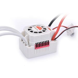 Image 5 - SURPASSHOBBY platin su geçirmez serisi 3650 3900KV 4300KV 5200KV fırçasız Motor 60A ESC programlama kartı için 1/10 RC araba tekne