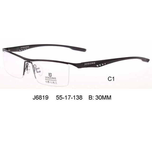 2017 New fashion customer made prescription lens business man glasses high quality myopia &presbyopia oculos de grau masculino