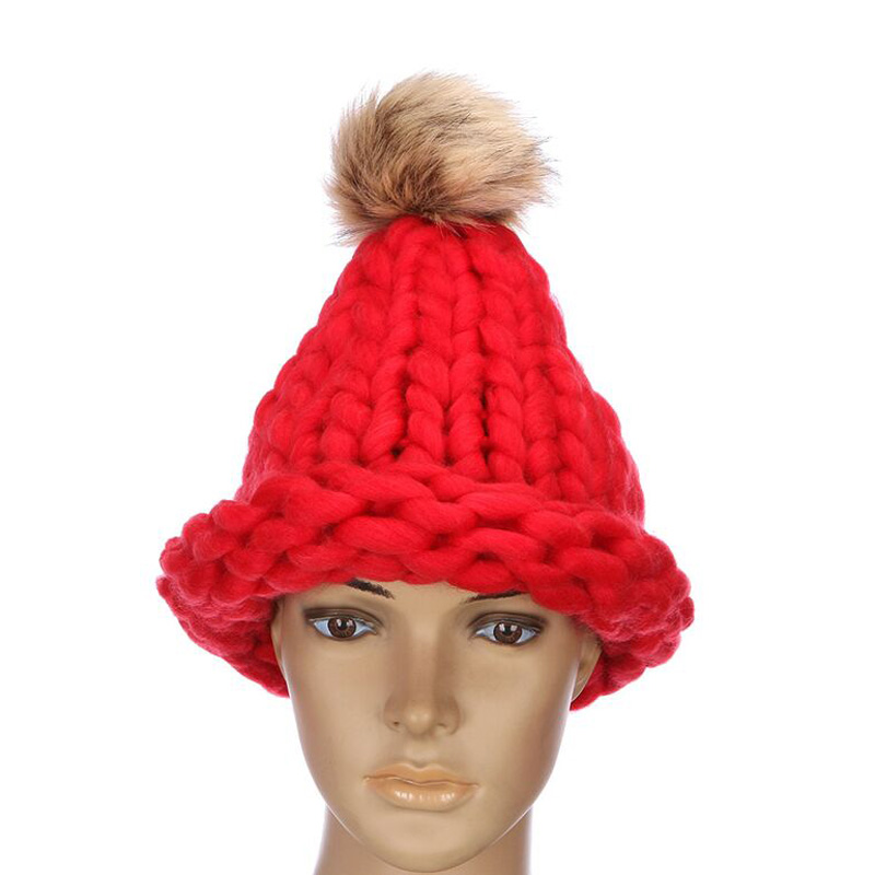 2017 Sell Like Hot Cakes Fashion Venonat Skullies Knitting Wool Caps for Women Beanies Kenka Shag Line Warm Winter Hat 18 Colors тарелка will perform for cakes