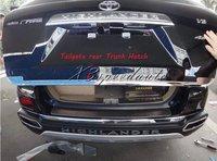Heckklappe hinten Trunk Hatch Unteren Deckel Trim Für Toyota Highlander 2011 2012 2013