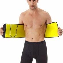 Neoprene Abdominal Slimming Belt Pocket Sweat Sauna Body Shaper Unisex Sweating Waist Trainer Corset New Arrived