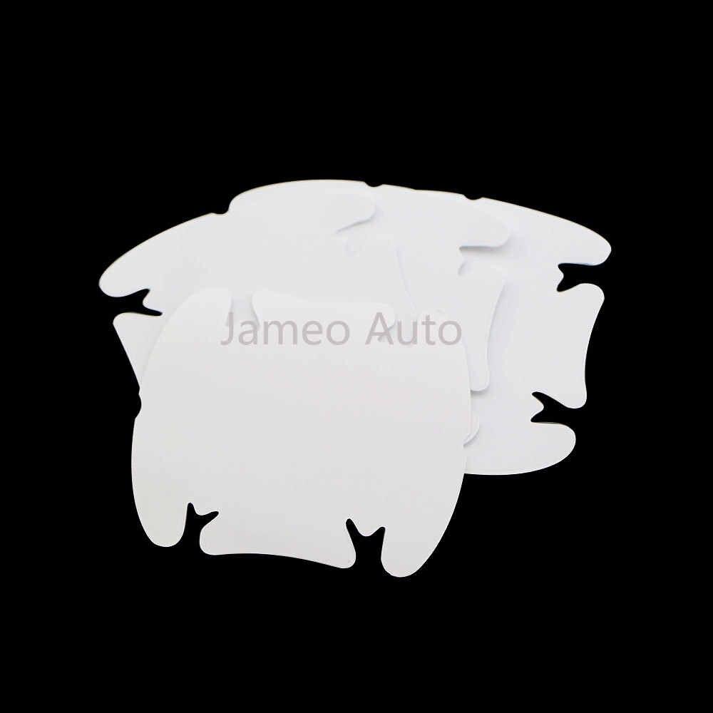 مقبض باب السيارة طبقة رقيقة واقية سيارة المعصم ملصق لكيا سبورتاج ريو 3 4 Ceed سورينتو سيراتو الروح K2 K3 K5 KX3 KX5 QL ملصقات
