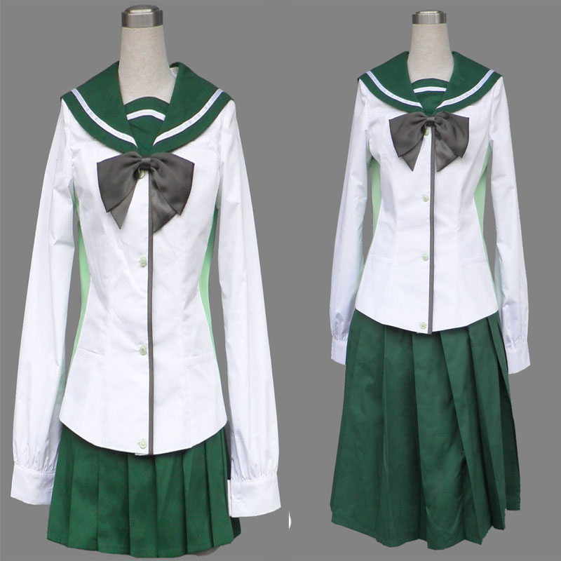 Highschool Of The Dead Cosplay Costume Two Generation -8951