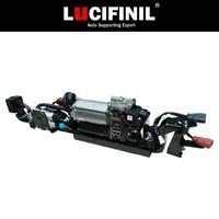 LuCIFINIL 2014 HuracanLP610 4 Air Suspension Air Compressor With Suspension Valve Bracket Pump 4S0616007D
