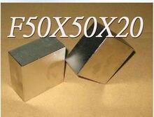 50 * 50 * 20 магниты N50 50 x 50 x 20 мм продают ремесло мощная модель сильным редкоземельных NdFeB блок магнит неодимовые магниты