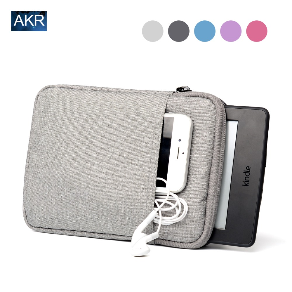 Tablet 6 inch Sleeve Case for Kindle Paperwhite Voyage 7th 8th Gen Pocketbook 622 623 e-reader Suiting Wool Pouch Free shipping