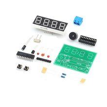 1PCS AT89C2051 Digital 4 Bits Electronic Clock Electronic