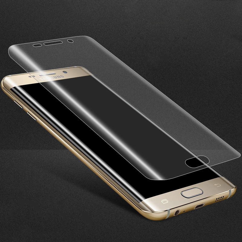 tempered glass phone case for samsung s6 edge plus s7 cover Protective Shell Accessories on galaxy s 6 7 6s 7s s6edge s7edge 3d