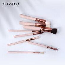 O.TWO.O 8pcs/set Makeup Brushes Set Synthetic Cosmetic Powder Brush Blush Concealer Blusher Eyeshdow Eyeliner Eyebrow