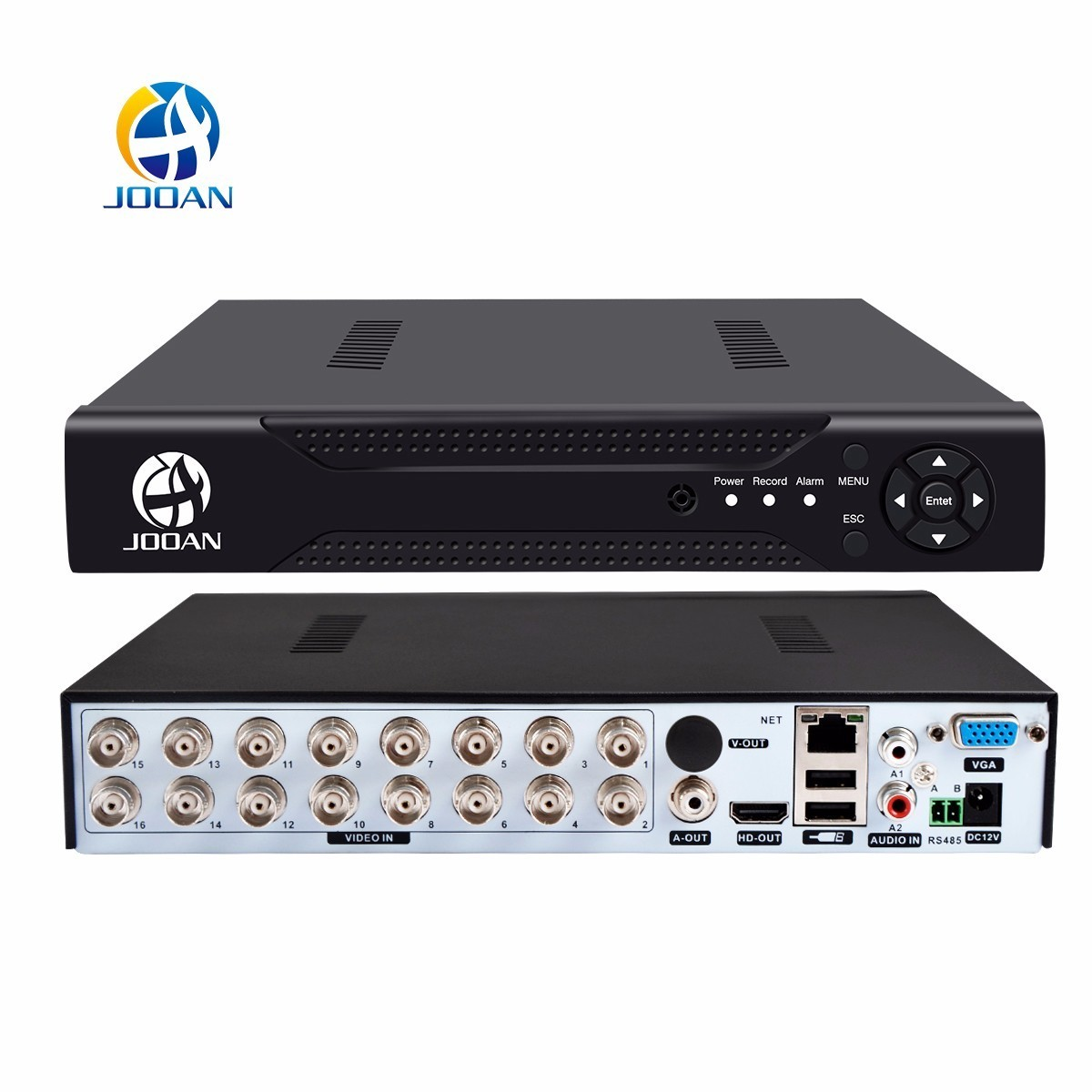 bilder für JOOAN 4216 T 16CH CCTV DVR H.264 HD-OUT P2P Wolke video recorder home Überwachung CCTV digital video recorder