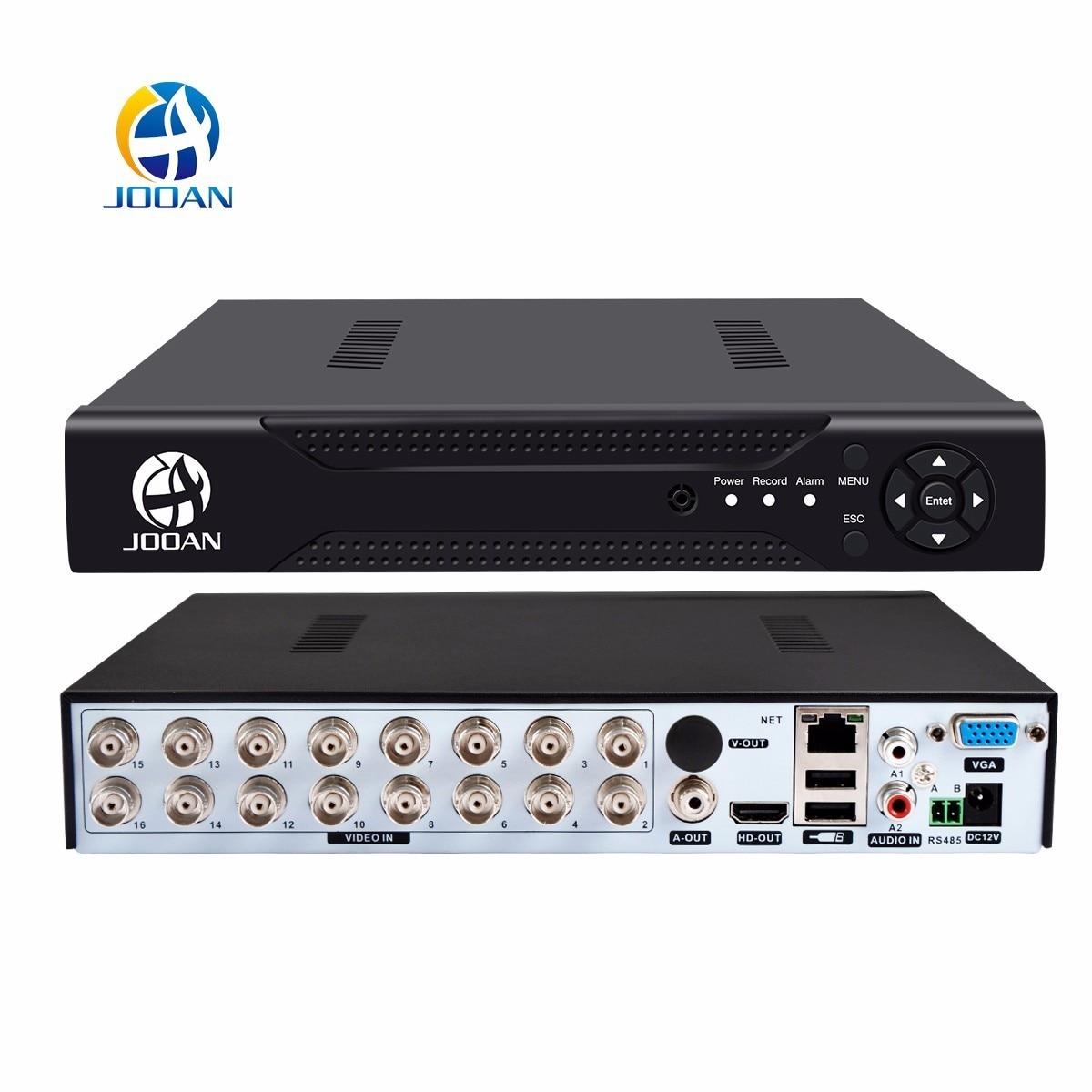 JOOAN 4216T 16CH CCTV DVR H.264 HD-OUT P2P Cloud video recorder home Surveillance security CCTV digital video recorder
