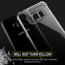 ZNP Luxury Anti-knock Silicone Case For Samsung S8 S9 Plus Transparent Back Cover Case For Samsung S7 Edge Note 8 9 Phone Case