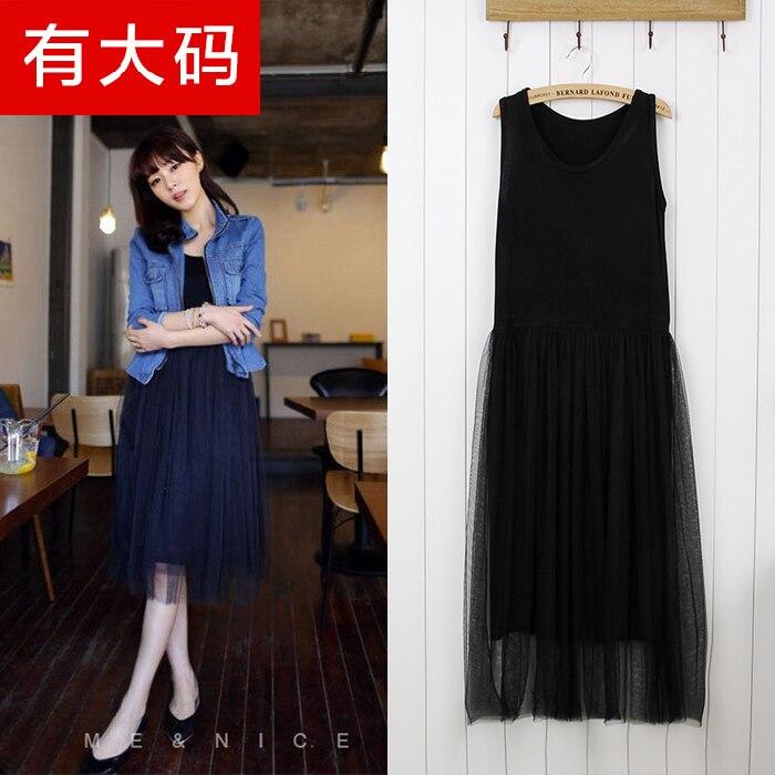 8adba666582 Fall fashion dress waist Camisole modal gauze dress code base in summer
