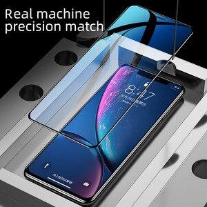 Image 5 - IHaitun verre de luxe 6D pour iPhone 11 Pro Max X XS MAX XR protecteur décran en verre trempé incurvé pour iPhone XS 10 7 8 Plus Film de couverture complète SE SE2 2020