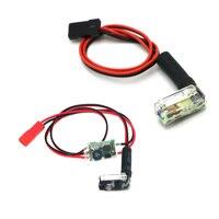 1 шт. ксенон ночной стробоскоп вспышка свет автоматический вход питания: 5 В или 6 В ~ 26 в широкое напряжение для RC Multicopter