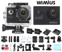 Wimius Full HD 1080P 2.0″ Action Camera WiFi Sport Helmet Cam 16MP 170 Degree Wide Angle DVR Camcorder 30M Waterproof Cameras DV