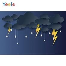 Yeele Photocall Lightning Thunder Terrible Weather Photography Backdrops Personalized Photographic Backgrounds For Photo Studio