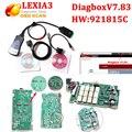 Новейшие v7.83 diagbox lexia 3 pp2000 Для citroen peugeot lexia3 Профессиональный диагностический инструмент Lexia-3 pp2000 Бесплатная Доставка