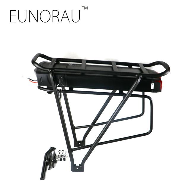 High quality electric bike battery 36V 13Ah 1203 rear rack ebike battery