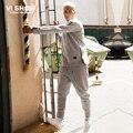 VIISHOW pantalones de Chándal Traje de Ropa de Los Hombres 2 unids hombres Jacket + Pants Uniforme Casual Chándales de Los Hombres de Los Trajes de la Ropa de Moda sudaderas con capucha
