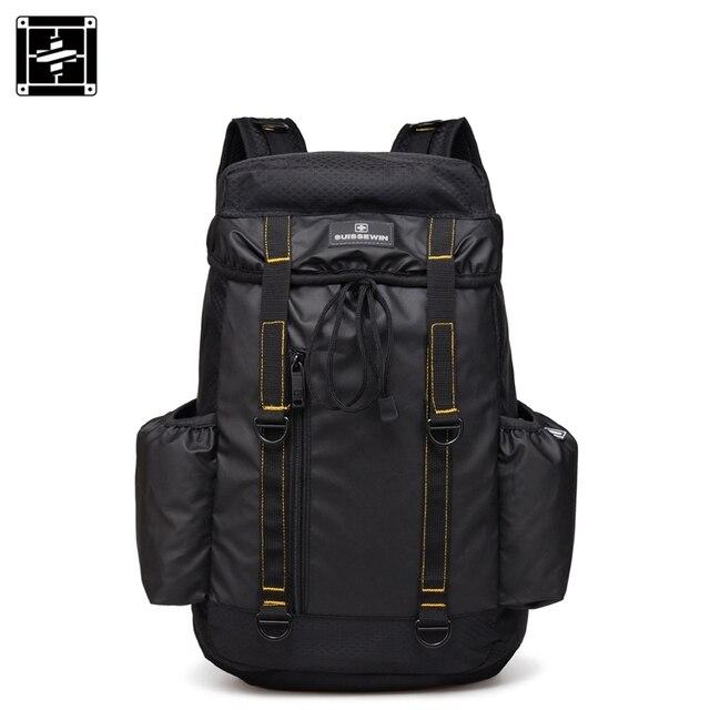 Suissewin swiss travel рюкзак стиль большой сумки емкость 17 дюймов рюкзак мужские дизайнерские сумки mochila швейцарской передач сумка
