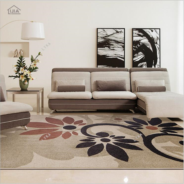 133cm*190cm Big Large Size Modern Simplicity Mat Carpet Living Room ...