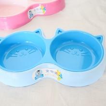 Pet supplies cat food bowl pet resolution monochrome printing soft plastic dog