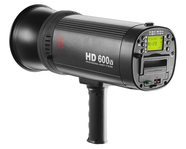 jinbei hd 600 ii 600w high speed outdoor photo flash lamp kit lcd