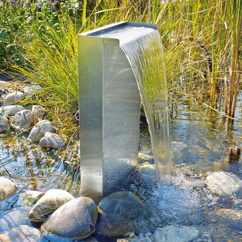 Oase Livingwater Waterfall Set 30 Fish Pond Decoration Of Kam Carp Gardening Rockfall