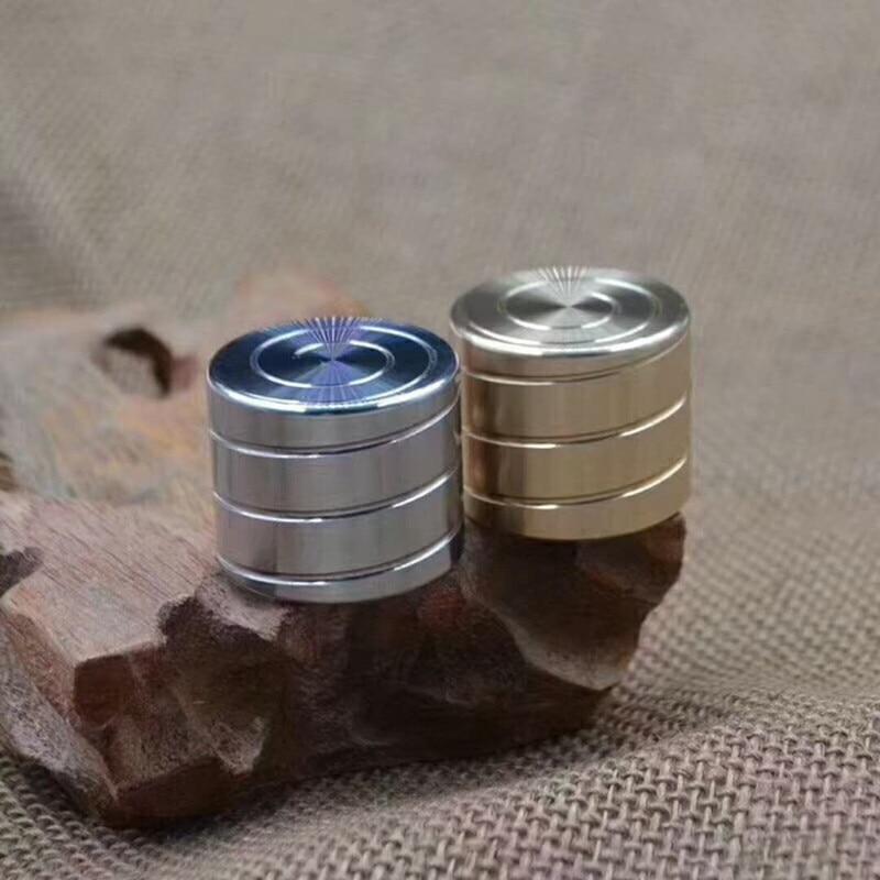 Hand Fidget Spinner Cylinder Shape Anti Stress Fingertip Gyro Rotating Toys Table Top Desk Decompression 2018 Hot Office