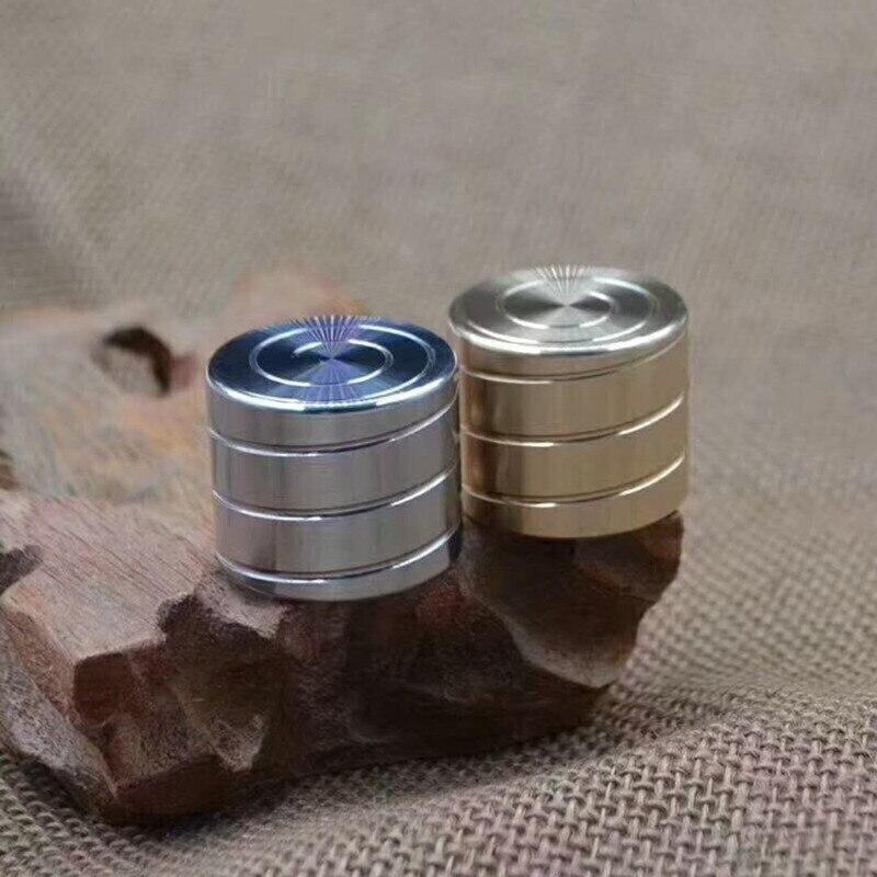 Hand fidget Spinner Cylinder Shape Anti-Stress Fingertip Gyro Rotating Toys Table Top Desk Decompression 2018 Hot Sale Office