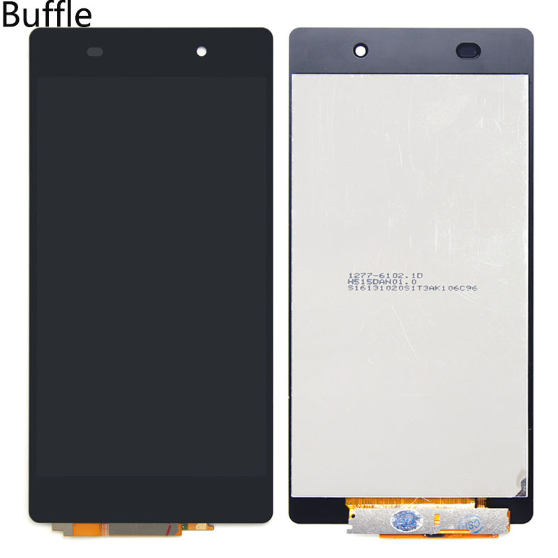 1 Pcs 100% Original For Sony Xperia Tablet Z2 LCD Display Touch Digitizer Screen Assembly Mobile Phone Free Shipping(Black)